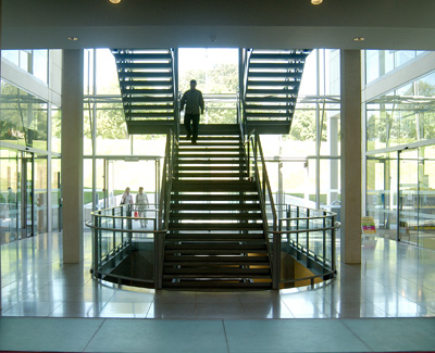 Glass Tread Staircases.
